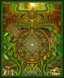 Green Man by Gnomosapien