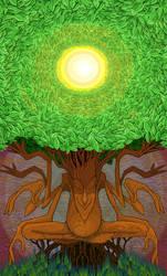 Tree Shiva by Gnomosapien