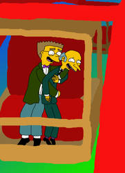 Smithers and Burns Ride the Ferris Wheel by BurnSmithersBurns