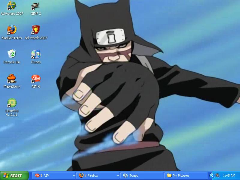 Kankurou desktop by Merkip