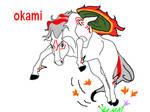 okami amaterasu horse