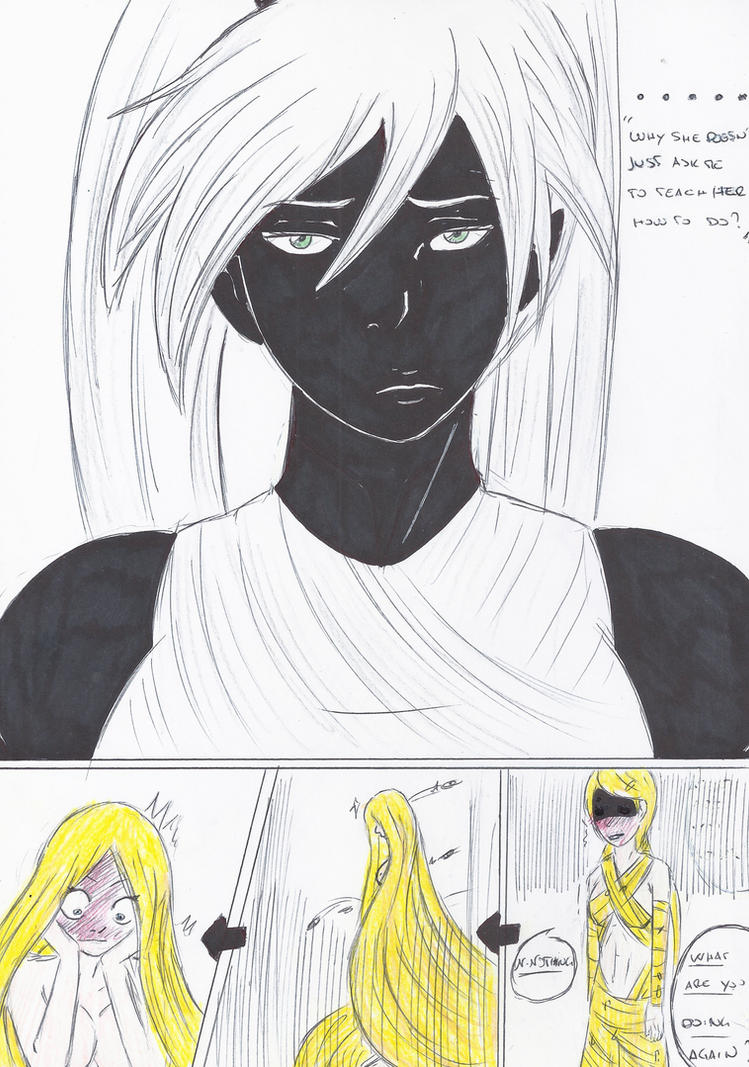 Extra page: Trying the hair dress...again by Alucard196