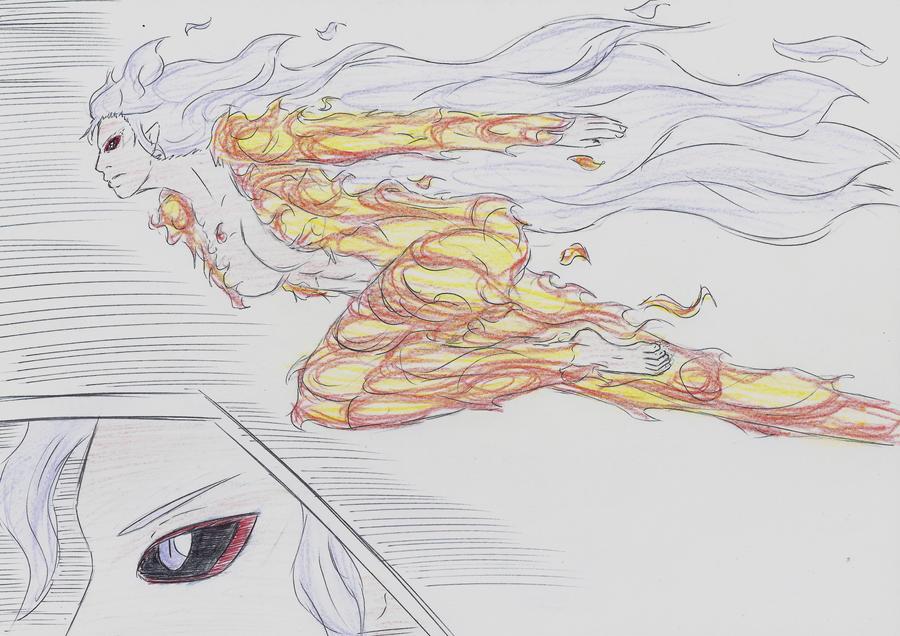 Sheena elemental form by Alucard196