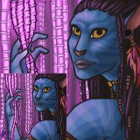 Neytiri - port by creep-machine