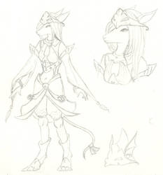 Fanart - Final Fantasy 021 by NightsofShade