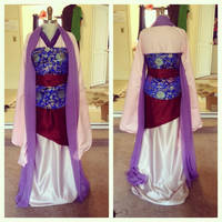 Fa Mulan Front and Back by King-Bobbles