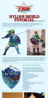 The Legend of Zelda Hylian Shield Cosplay Tutorial