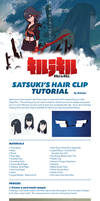 Kill La Kill - Satsuki Hair Clip Cosplay Tutorial