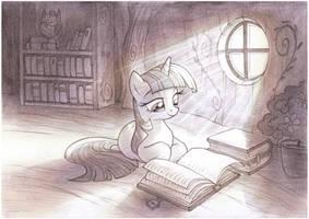 Enlightenment Sketch by sherwoodwhisper