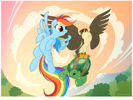 Earth And Sky by sherwoodwhisper