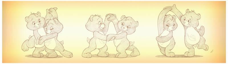 Hugs and Tugs dancing