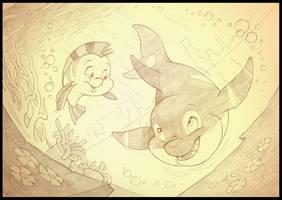<b>Spot And Flounder</b><br><i>sherwoodwhisper</i>
