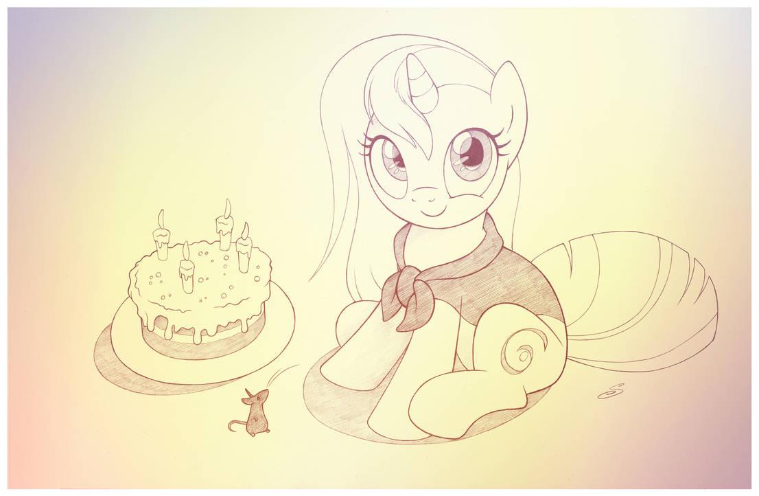 Eri's Birthday by sherwoodwhisper