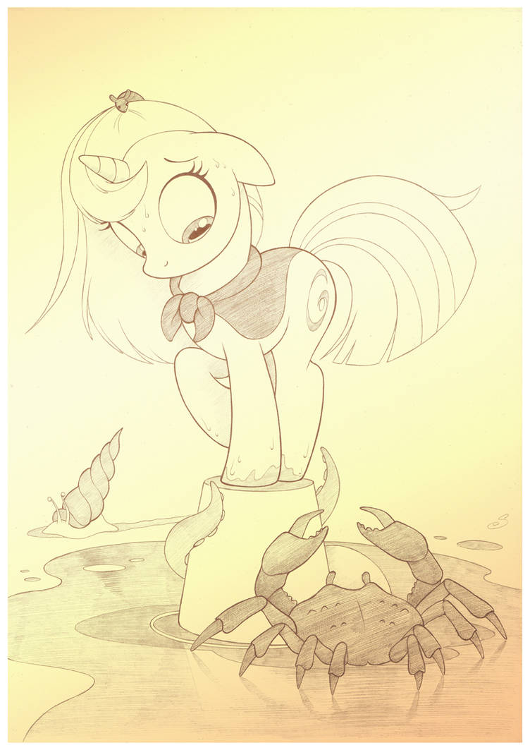 Sea Creatures by sherwoodwhisper