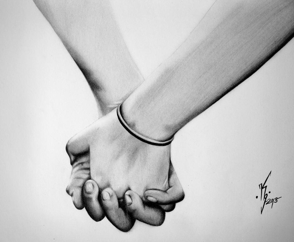 Holding Hands by KgTheOctopus on DeviantArt