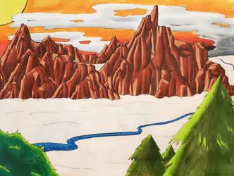 Landscape by RaeIsBestDragon