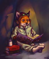 A Dreamy Fox