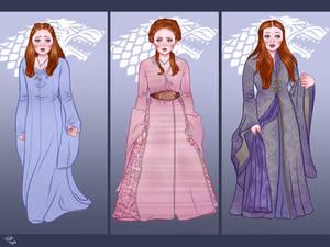 Sansa Stark, first seasons