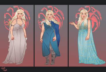 Daenerys Targaryen, first seasons