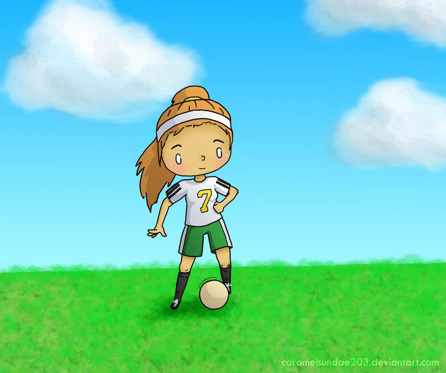 Soccer Girl by caramelsundae203