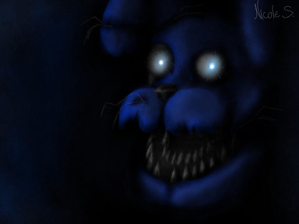 Nightmare bonnie fnaf 4 was it me by nicolethebluepony on