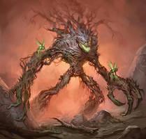 Treeman Ancient by mysticaldonkey1