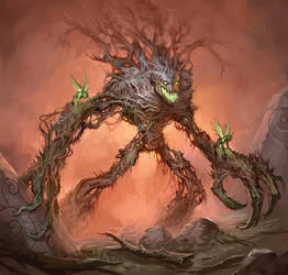 Treeman Ancient by mysticaldonkey1