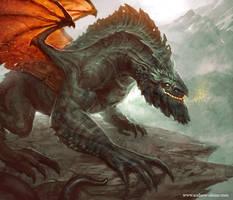 Mountain Dragon by mysticaldonkey1