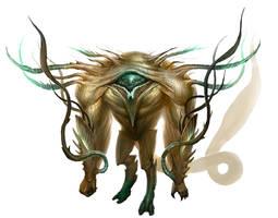 Cthulhu Beast by mysticaldonkey1