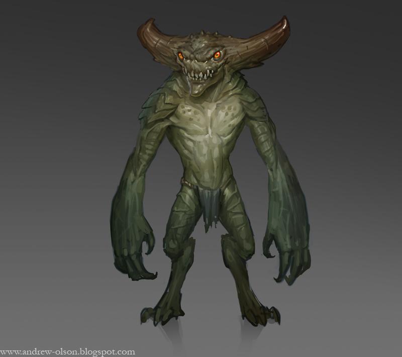 Bog Imp by mysticaldonkey1