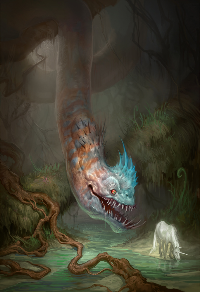 The Last Unicorn by mysticaldonkey1
