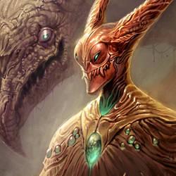 Critter Lord WIP by mysticaldonkey1