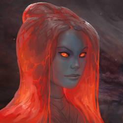 Alexis Firedropper by mysticaldonkey1