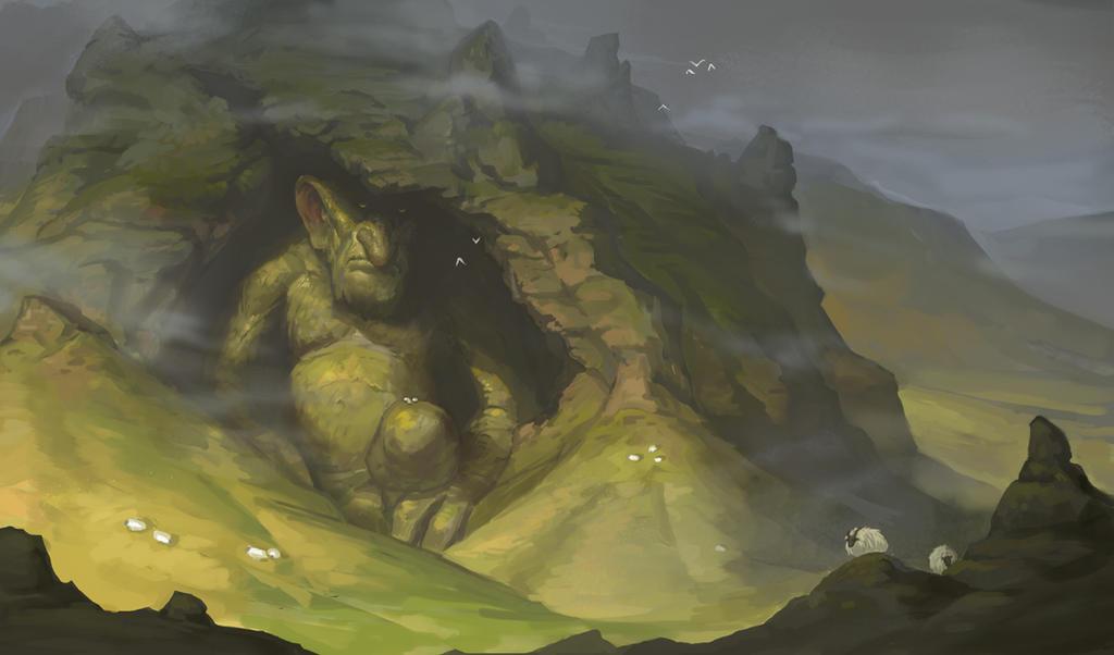 Hudufolk- Troll Hill by mysticaldonkey1