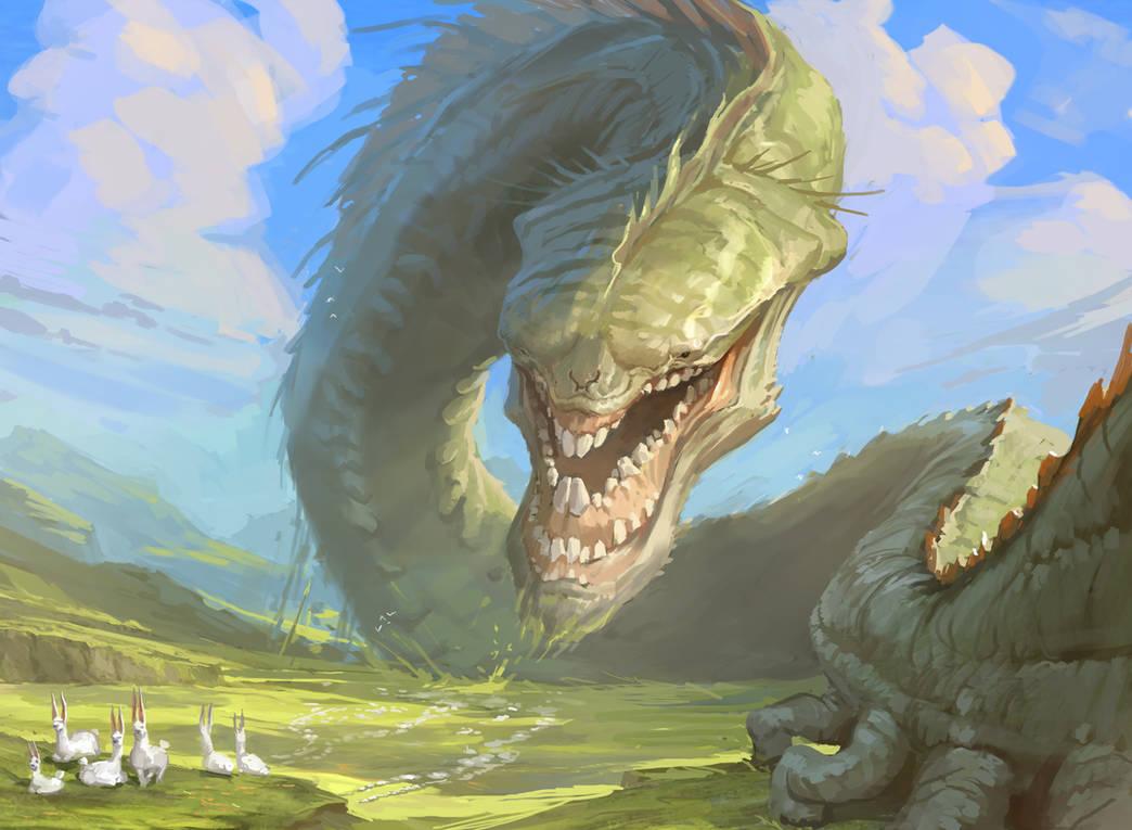 Craw Wurm by mysticaldonkey1