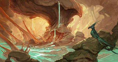 Slime Forest by mysticaldonkey1
