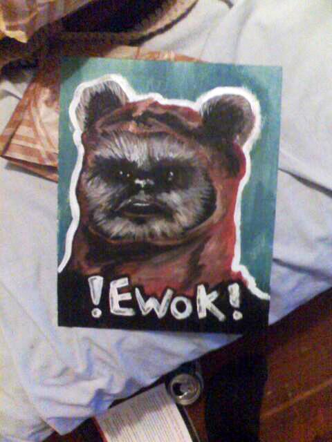 Ewok by fakefight on deviantart - Ewok wallpaper ...