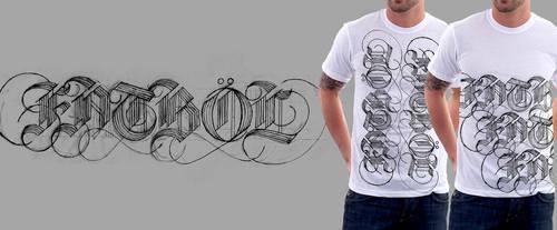 FATBOL Clothing Co. Logotype - Blackletter