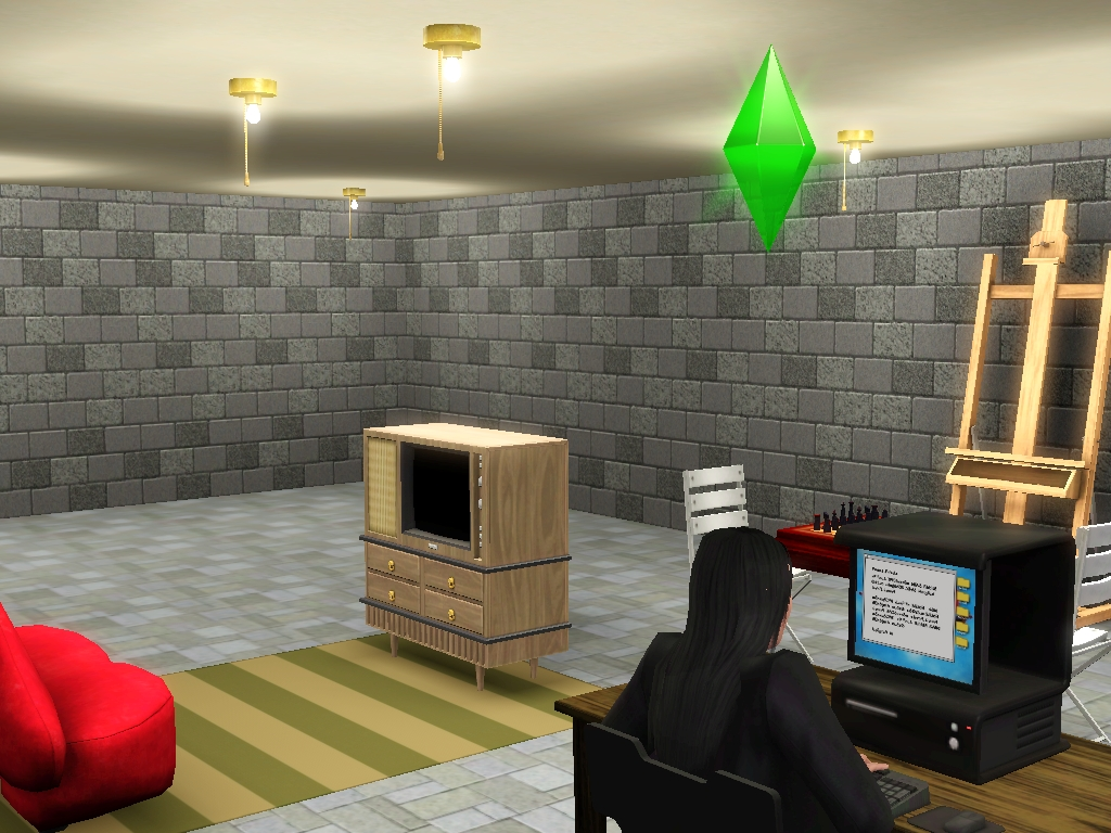 the sims 3 basement by snowxchan on deviantart