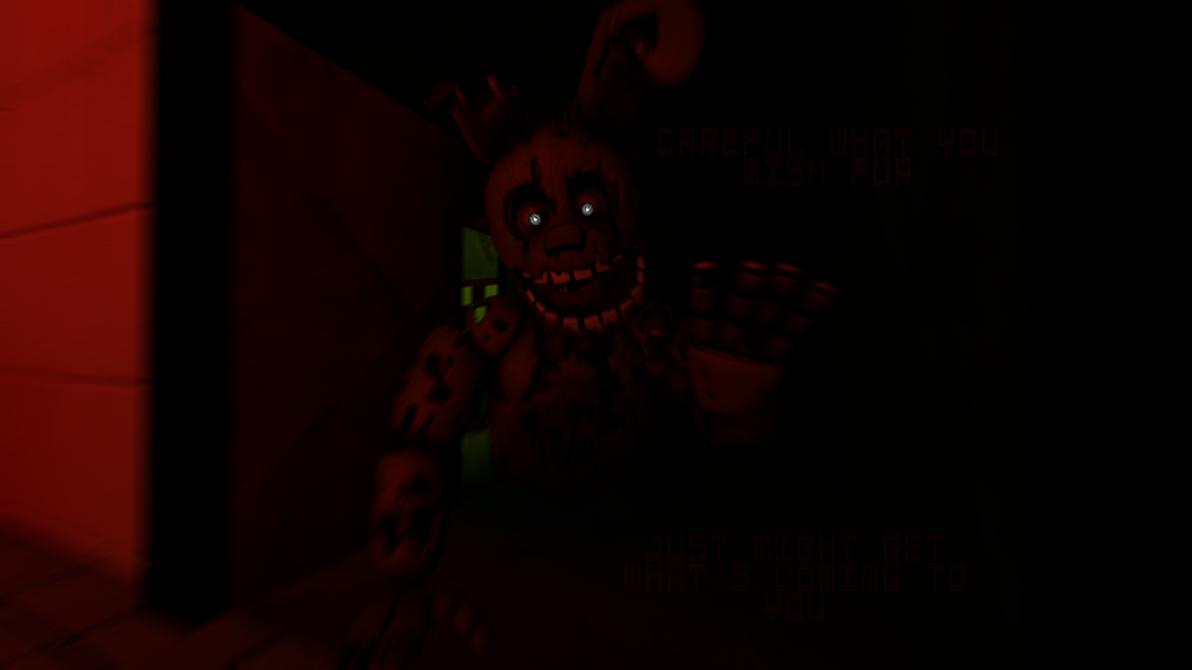 [SFM FNAF3] The Vent Monster by SnowxChan