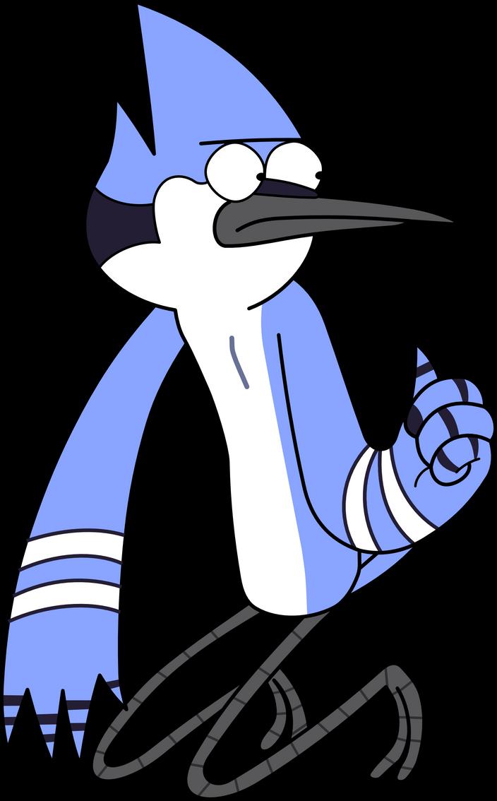 Mordecai te desea suerte by kol98