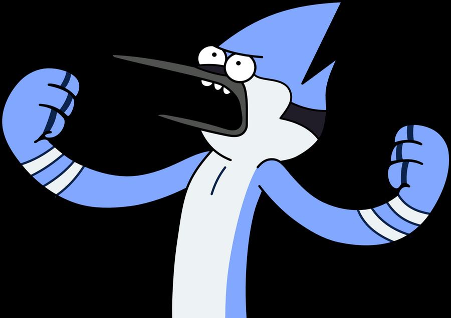 Mordecai grita mucho by kol98