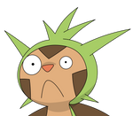 Chespin discovers the internet
