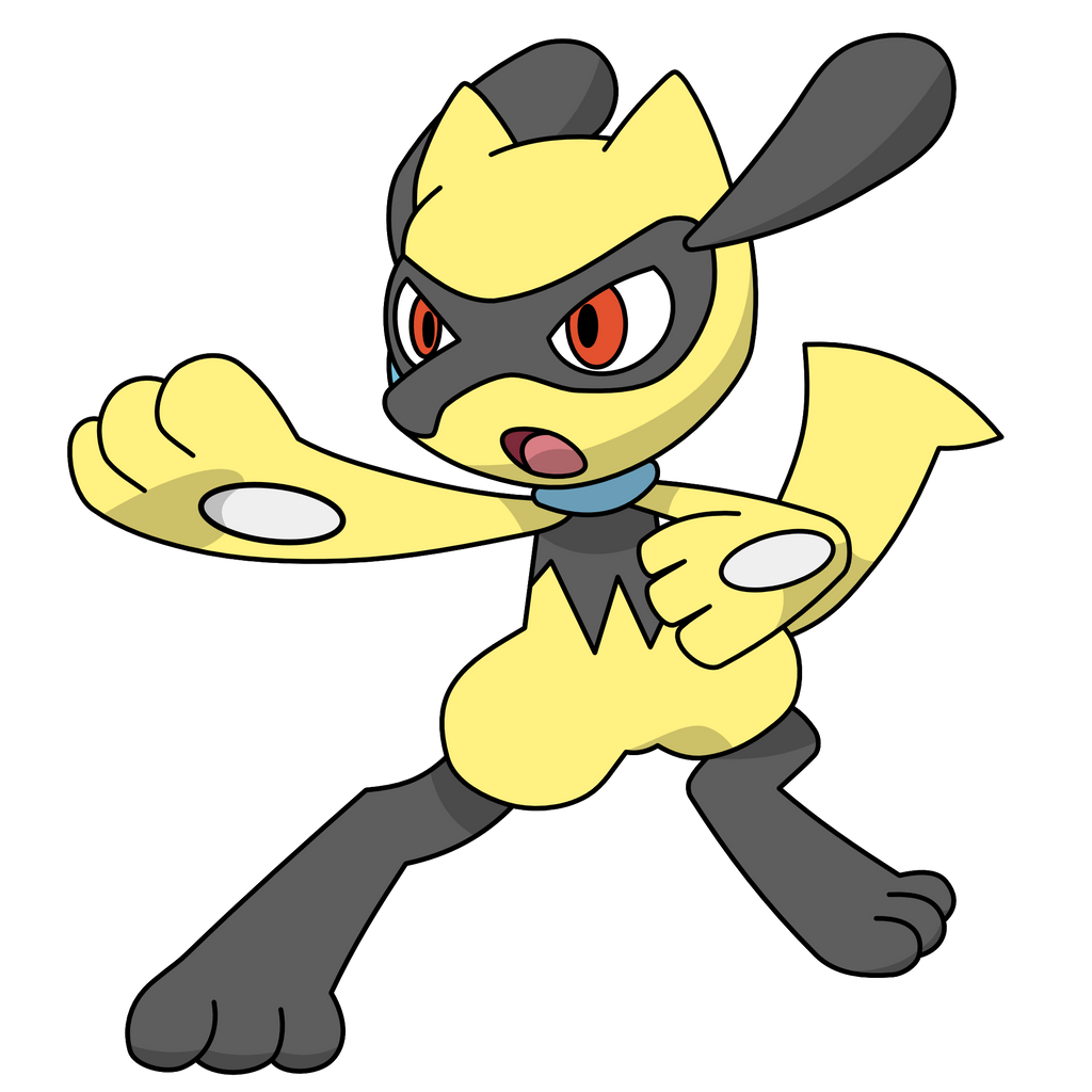 Shiny Riolu by kol98 on DeviantArt