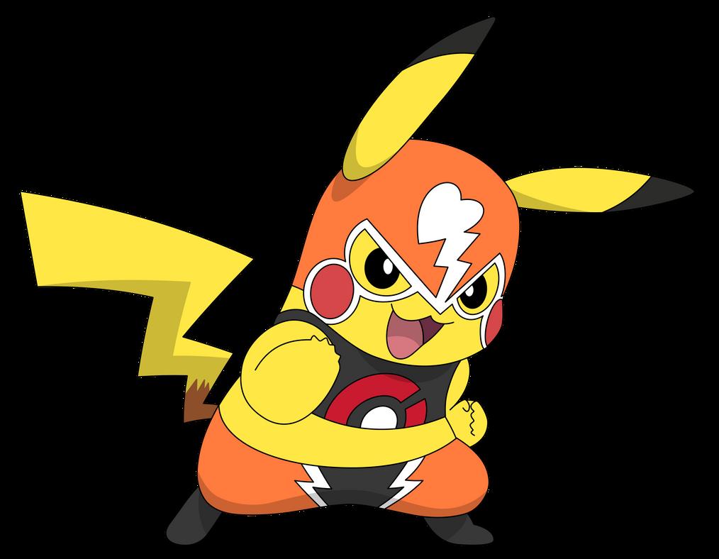 Pikachu Luchador By Kol98 On Deviantart