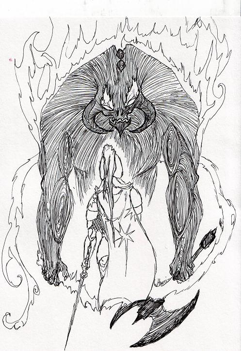 Feanor and Gothmog by amptcat on DeviantArt
