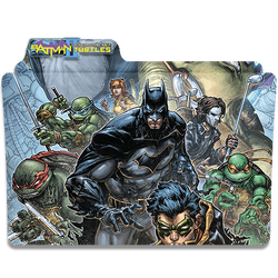 Batman TMNT II by DCTrad