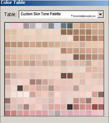 Custom Skin Tone Palette by ShoneGold