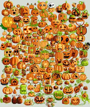 Pile o' Pumpkins Collab