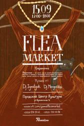 flea market poster by Zele-Rebus